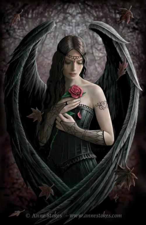 Gothic angel wallpaper - Gothic fallen angel pictures ...