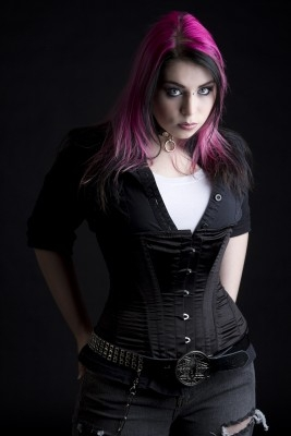 gothic female models