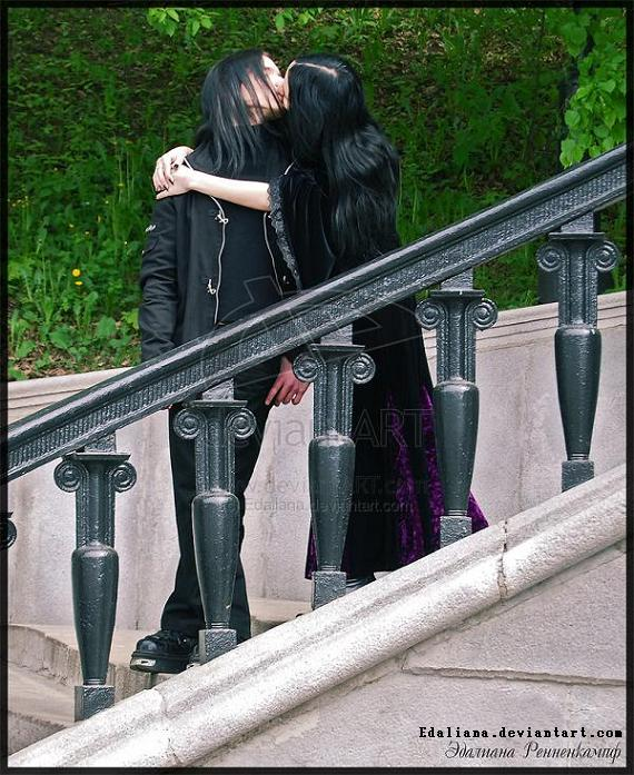 A Gothic couple
