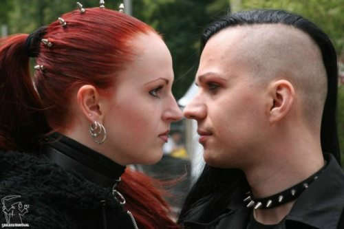If you choose a gothic hairstyle then you will certainly need to buy some