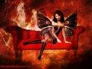 goth fantasy art
