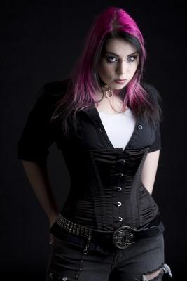 gothic female models