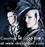 gothic hair